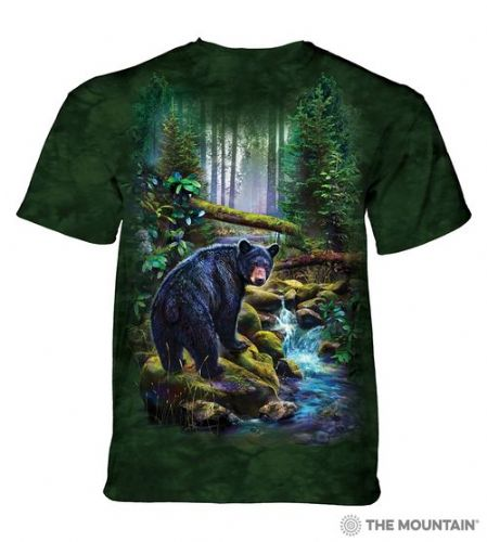Black Bear Forest T-shirt | The Mountain®